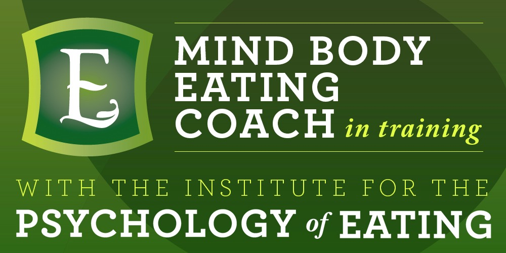 Eating Psychology Coach in training badge