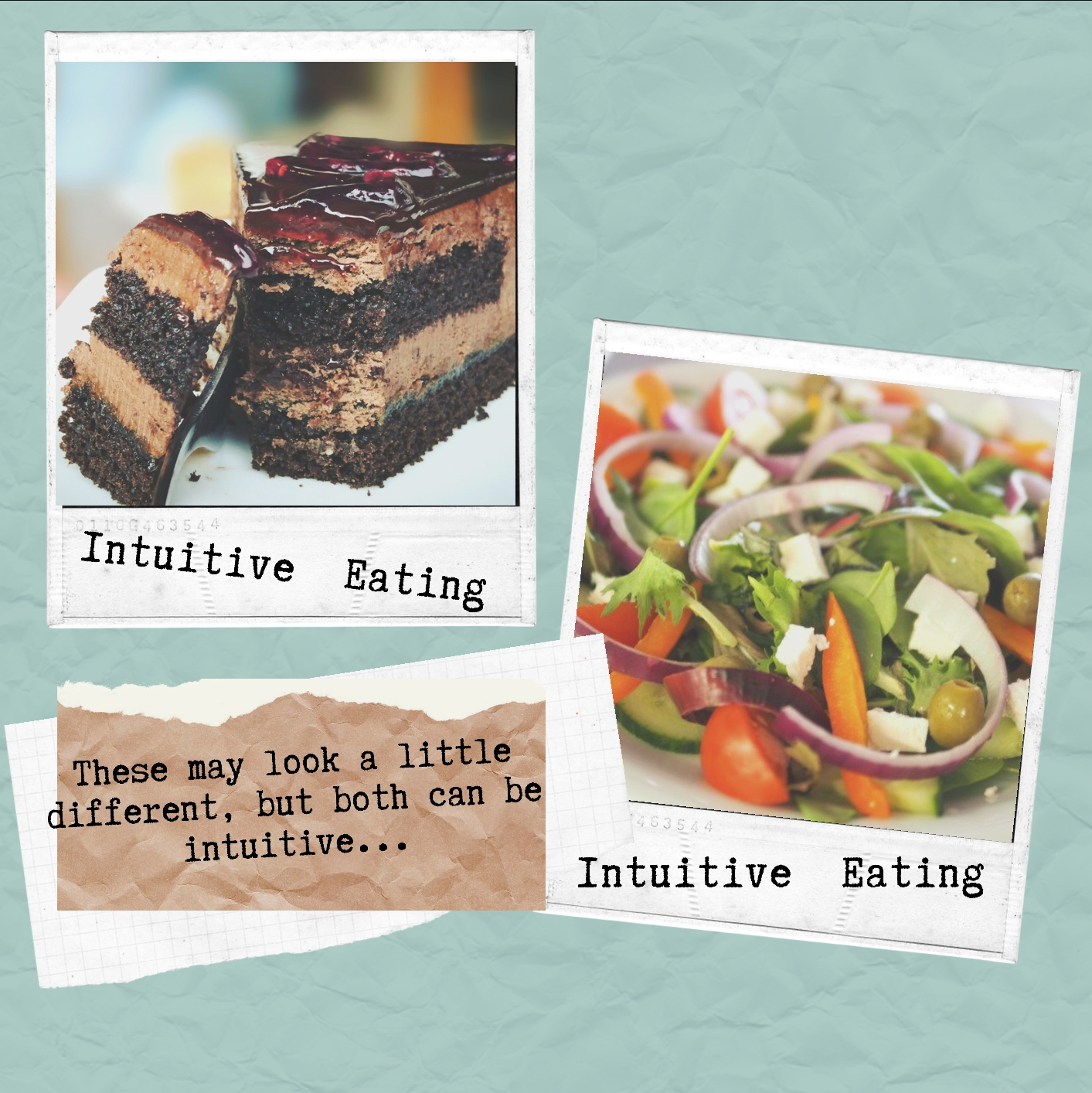 Are Eating Psychology & Intuitive Eating the same thing??